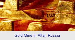 Gold Mine in Altai, Russia